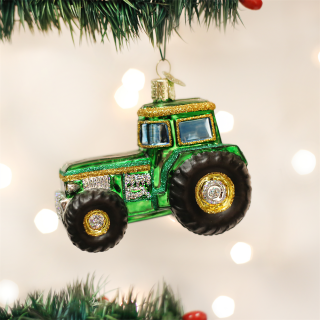 Old World Christmas Ornament - Tractor