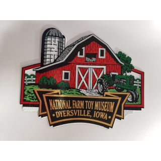 National Farm Toy Museum Barn Magnet