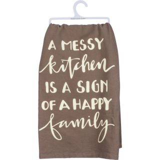 Messey Kitchen Dish Towel