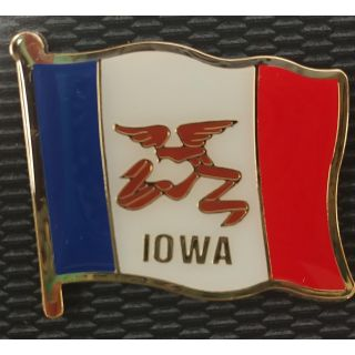 Iowa State Flag Magnet