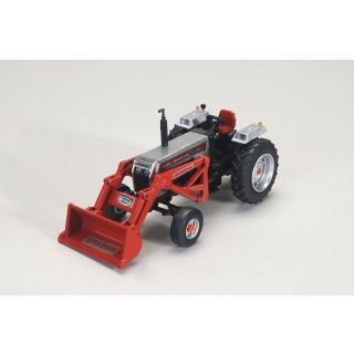 White 2-88 with New Idea Loader - 2020 Summer Farm Toy Show - 1/64