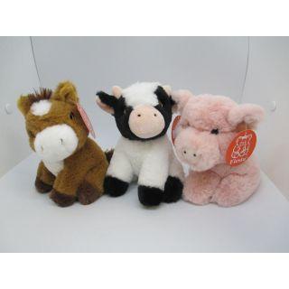"Stuffed Animal - 6"" Farm Animals"