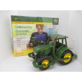 Buildex Build-n-Play Model 5085M John Deere Tractor Building Kit