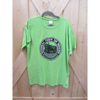 Large Lime NFTM Circle Logo T-shirt