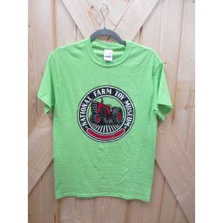 Small Lime NFTM Circle Logo T-shirt