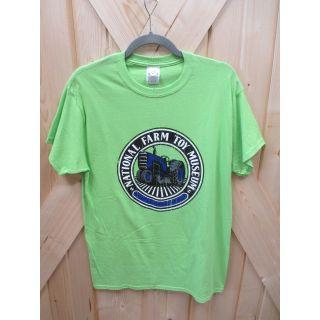 Medium Lime NFTM Circle Logo T-shirt