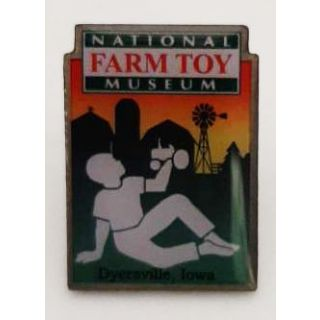 National Farm Toy Museum Hat Pin