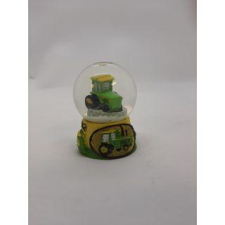 Mini Snow Globe - Tractor Theme