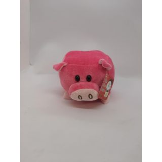 Stuffed Animal - Small Square Pig