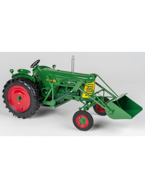 Oliver Super 88 with loader - 2019 Summer Farm Toy Show - 1/16