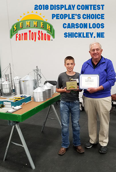 Summer Farm Toy Show People's Choice Award
