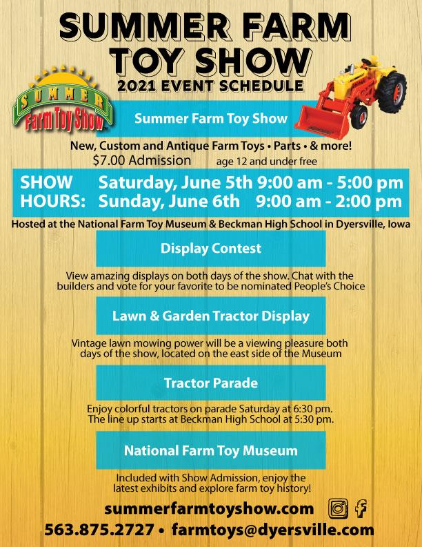 2021 SFTS Event Schedule